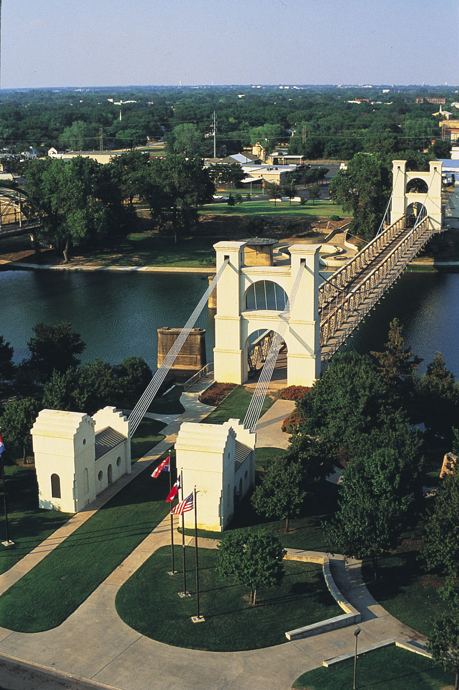 Waco, Texas Suspension Bridge