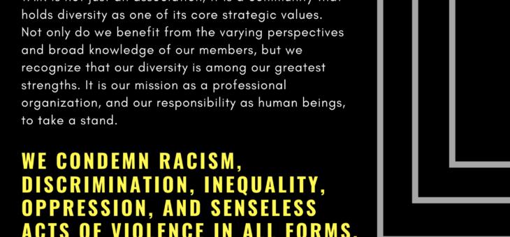 TAIR Statement on Diversity